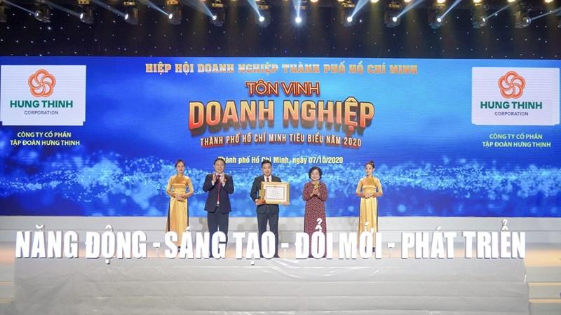 Tập đoàn Hưng Thịnh thắng lớn với loạt giải thưởng tiêu biểu năm 2020