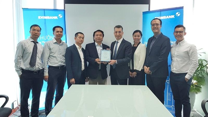Eximbank được trao giải thưởng chất lượng thanh toán quốc tế xuất sắc
