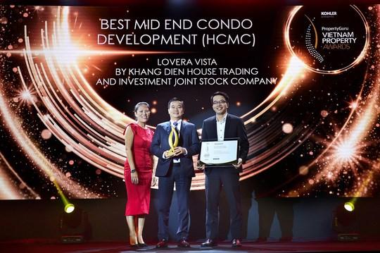 Nhiều doanh nghiệp và dự án bất động sản đạt giải Vietnam Property Awards 2020