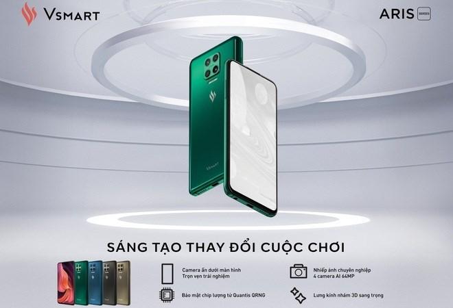 """Vsmart Aris Pro: chiếc điện thoại nhỏ """"cõng"""" tư duy lớn"""