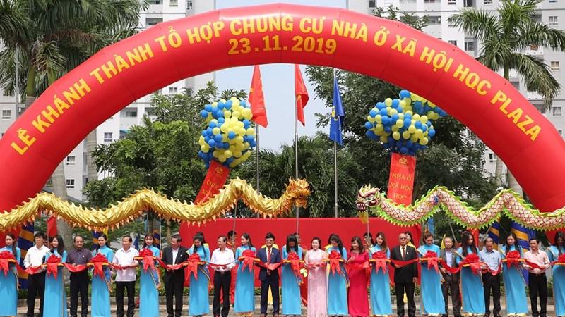 Khánh thành dự án Nhà ở xã hội HQC Plaza lớn nhất TP. Hồ Chí Minh