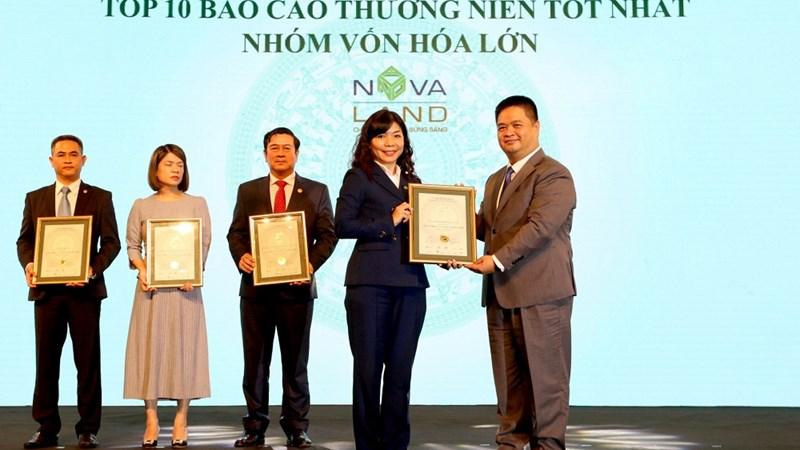 Novaland được vinh danh Báo cáo thường niên và Báo cáo phát triển bền vững tốt nhất 2020