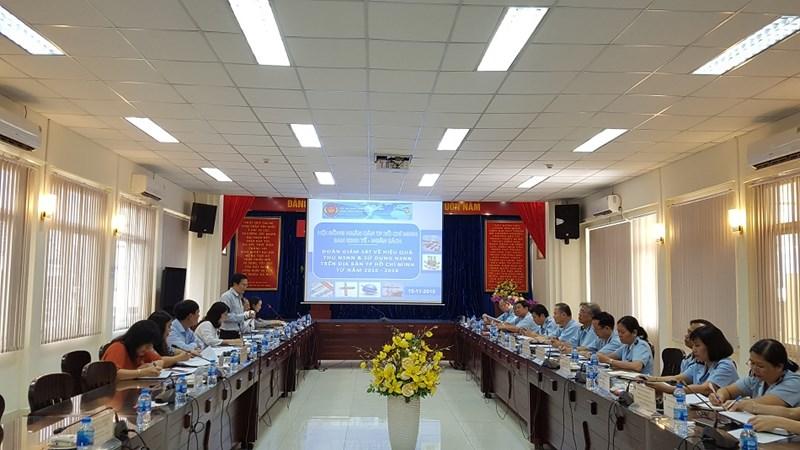 Cục Hải quan TP. Hồ Chí Minh phấn đấu công tác thu ngân sách đạt 108.000 tỷ đồng năm 2018