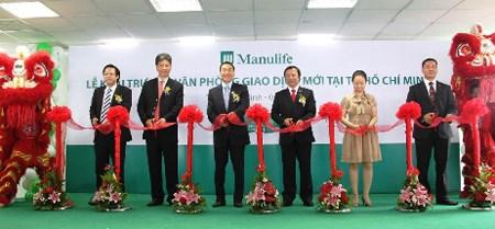 Manulife Việt Nam khai trương văn phòng giao dịch mới