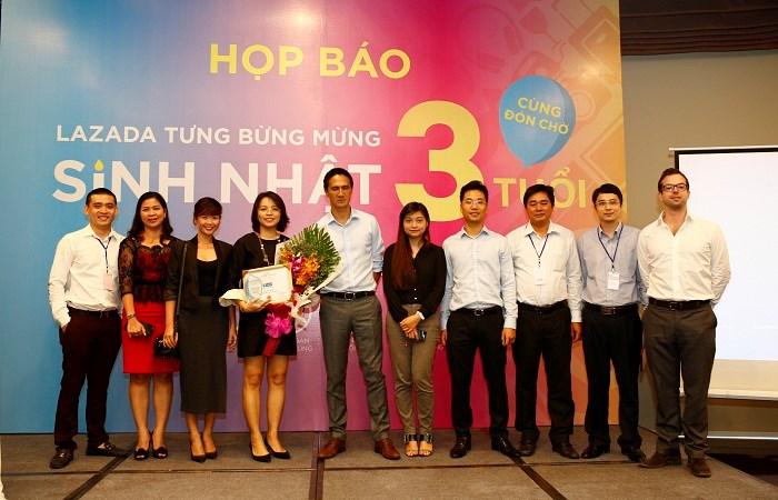 Lazada Group kỷ niệm 3 năm có mặt tại thị trường Việt Nam