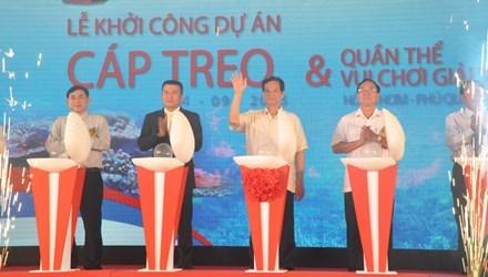 Sun Group xây cáp treo dài nhất thế giới tại Phú Quốc
