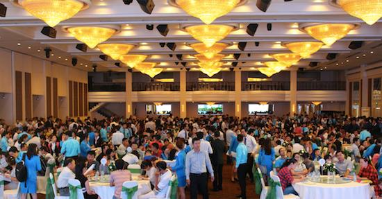 Hơn 1.000 khách hàng tham dự lễ công bố dự án Opal Riverside