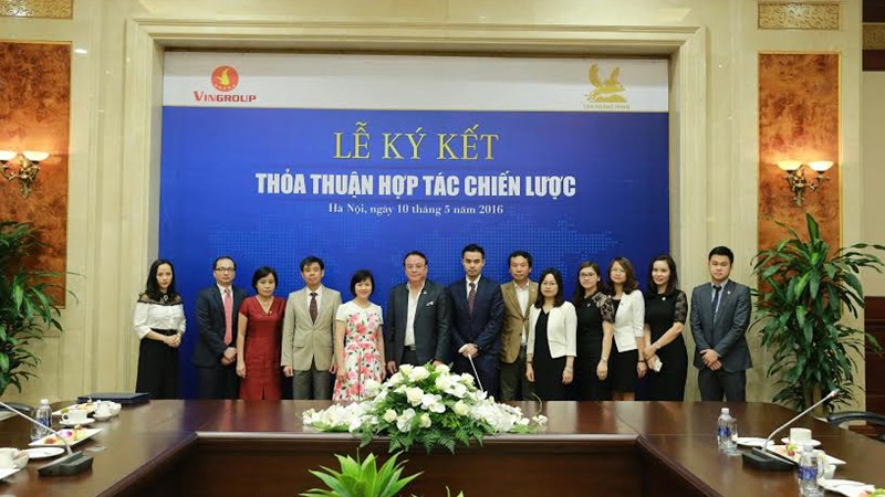 Thỏa thuận hợp tác chiến lược giữa Tân Hoàng Minh Group và Vingroup