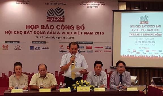 100 doanh nghiệp với 600 gian hàng sẽ tham gia VietHome Expo 2016