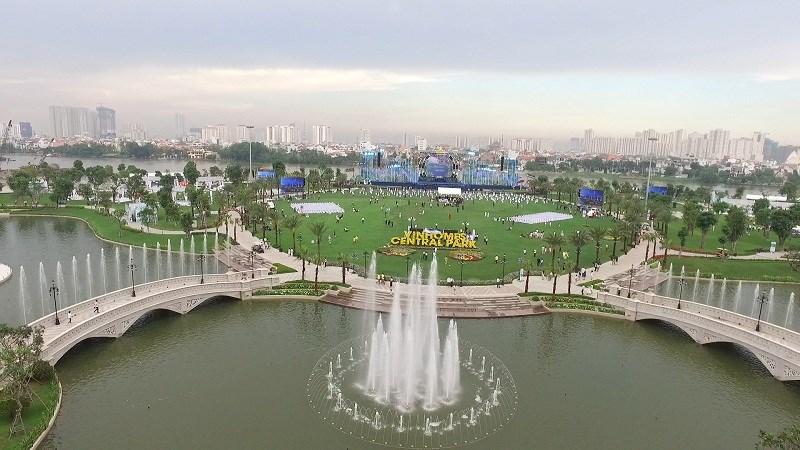 Khai trương công viên ven sông lớn nhất TP. Hồ Chí Minh