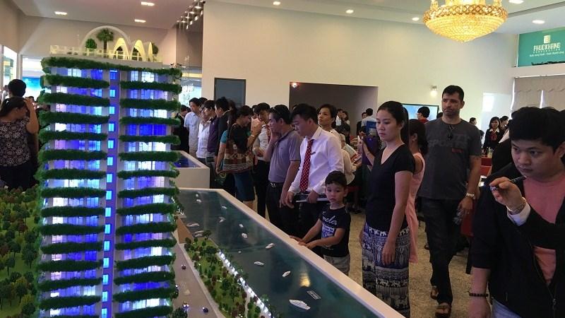 Phúc Khang khai trương nhà mẫu dự án Diamon Lotus Riverside
