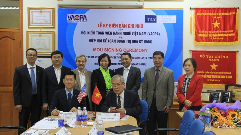Hiệp hội Kế toán Quản trị Hoa Kỳ hợp tác với VACPA