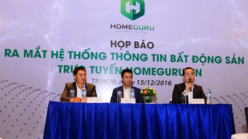Ra mắt hệ thống thông tin bất động sản trực tuyến Homeguru.vn