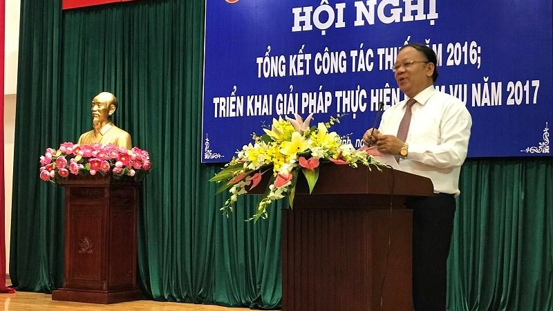 Năm 2016, Cục Thuế TP. Hồ Chí Minh thu ngân sách tăng 10,48%
