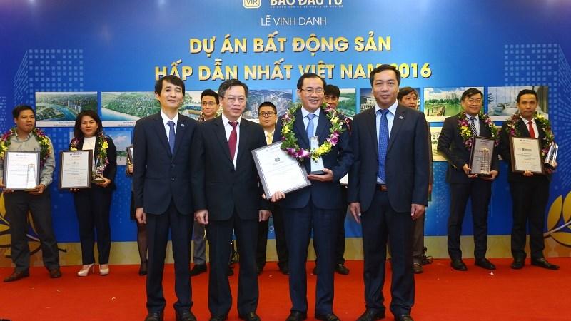 Dragon City được vinh danh dự án bất động sản hấp dẫn nhất Việt Nam 2016