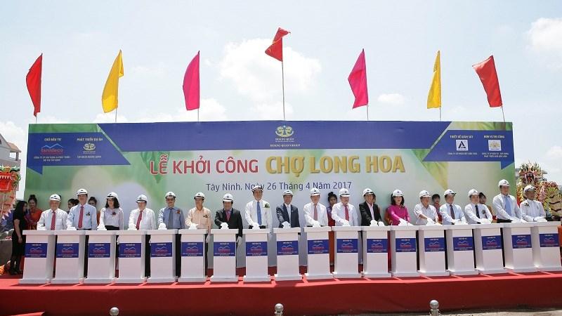 Trung tâm thương mại Long Hoa được đầu tư hơn 200 tỷ đồng