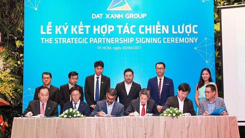 Tập đoàn Đất Xanh ký kết hợp tác chiến lược với gần 20 đối tác lớn