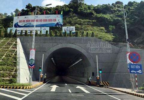 Dự án BOT hầm Đèo Cả 50 nghìn tỷ đồng chính thức thông xe