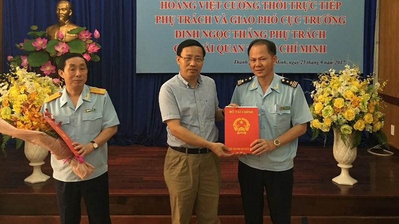 Công bố và trao quyết định phụ trách Cục Hải quan TP. Hồ Chí Minh