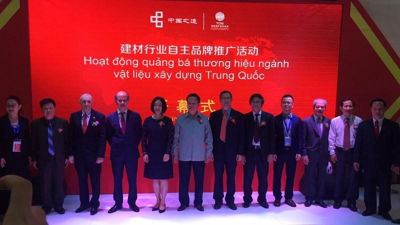 Trung Quốc quảng bá thương hiệu ngành vật liệu xây dựng tại thị trường Việt Nam