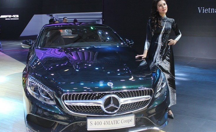 13 thương hiệu ôtô danh tiếng tham gia triển lãm ô tô quốc tế Việt Nam