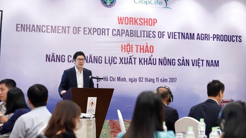 Nâng cao năng lực xuất khẩu nông sản Việt Nam trên thị trường quốc tế
