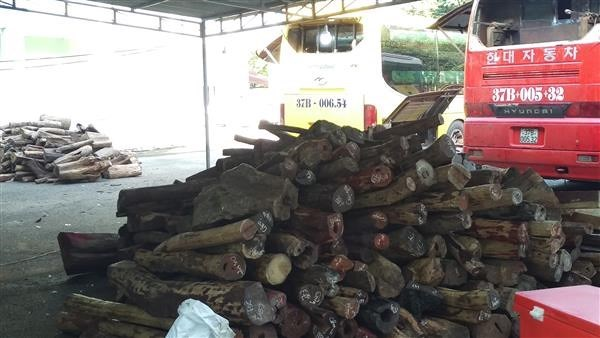 Chuyển Công an điều tra vụ gỗ nhập lậu ở cửa khẩu Xa Mát