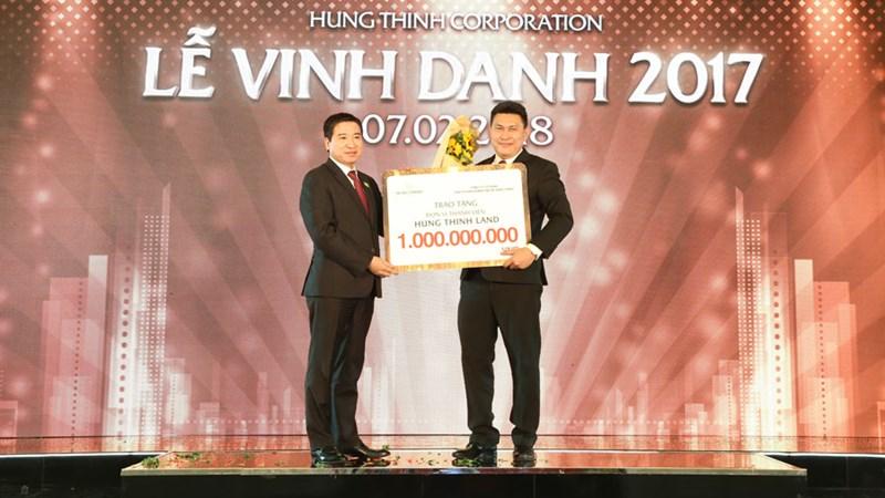 Năm 2017, Tập đoàn Hưng Thịnh tiêu thụ gần 5.000 sản phẩm