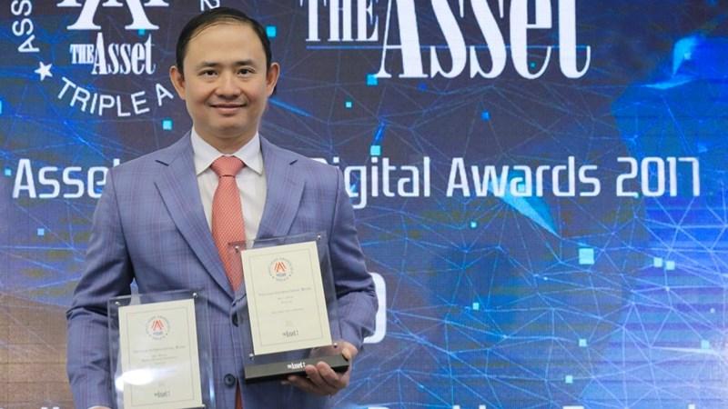 VIB được vinh danh ở giải Ngân hàng số của năm 2017