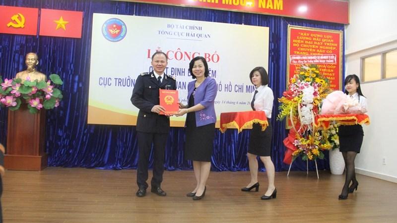 Ông Đinh Ngọc Thắng được bổ nhiệm làm Cục trưởng Cục Hải quan TP. Hồ Chí Minh