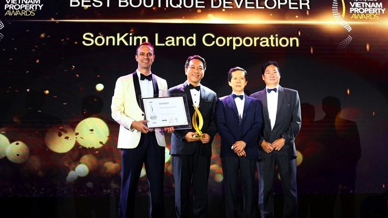 """SonKim Land được vinh danh """"Nhà phát triển BĐS xuất sắc nhất dòng Luxury Boutique"""""""