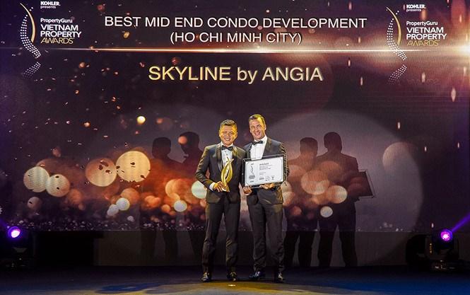 Dự án Skyline của An Gia nhận giải thưởng 'PropertyGuru Vietnam Property Awards'
