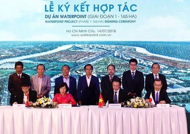 Nam Long bắt tay đối tác Nhật đầu tư dự án bất động sản ở Long An