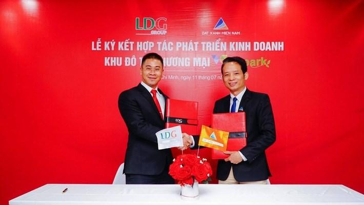 Đất Xanh Miền Nam và LDG Group ký hợp tác phát triển dự án Viva Park