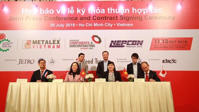 Doanh nghiệp Nhật Bản hợp tác thúc đẩy ngành công nghiệp sản xuất Việt Nam