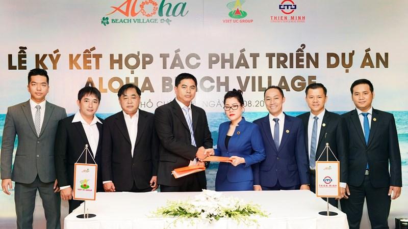 Thiên Minh và Việt Úc phát triển giai đoạn 2 dự án Aloha Beach Village