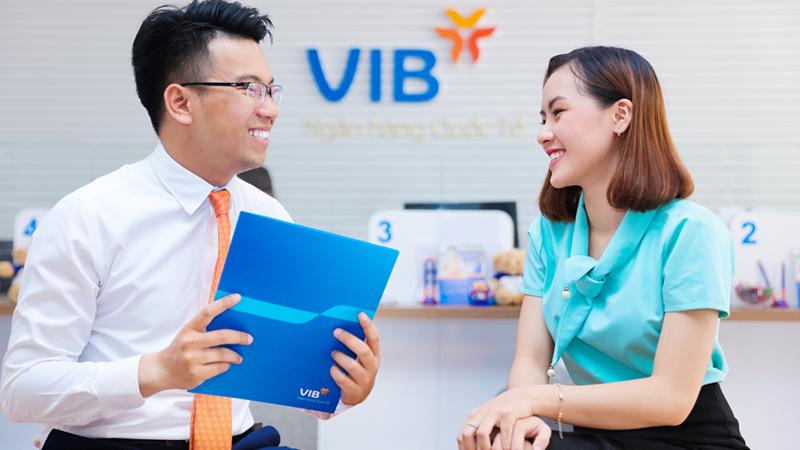 Khách hàng được nhân đôi lãi suất khi gửi tiền tại VIB