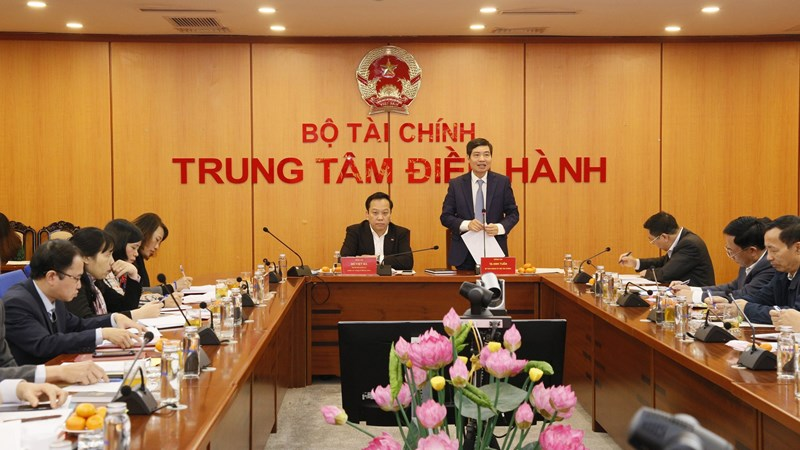Đảng ủy Bộ Tài chính tổ chức tổng kết công tác đảng năm 2020