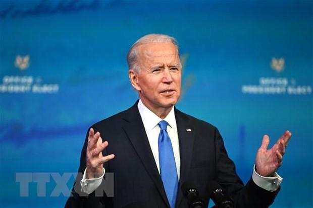 Tổng thống Mỹ Joe Biden thúc đẩy gói cứu trợ 1.900 tỷ USD