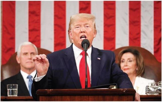 [Infographics] Tổng thống Trump tập trung vào chủ đề nước Mỹ vĩ đại trở lại trong thông điệp liên bang 2020