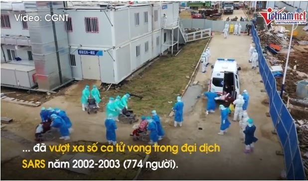 [Video] Số ca tử vong do corona vượt qua dịch SARS, WHO nêu lo ngại mới về đại dịch