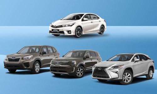 [Infographics] Những mẫu xe tốt nhất 2020