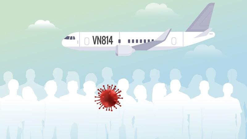 [Infographics] Hơn 60 người Việt bị cách ly sau chuyến bay có nCoV