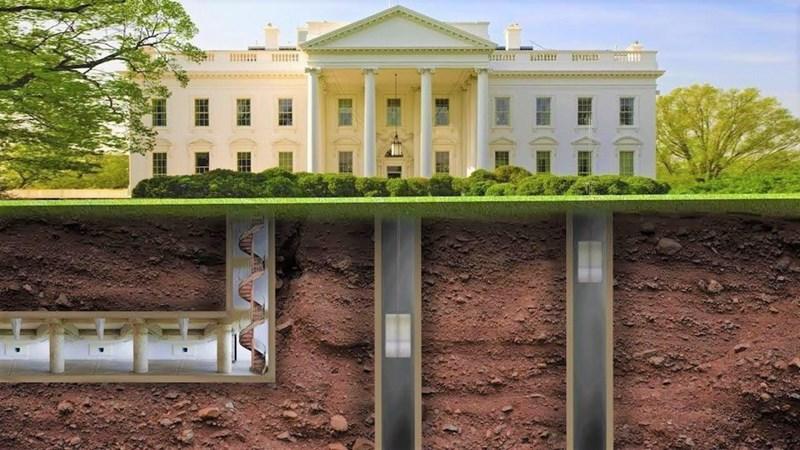 [Video] Hệ thống đường hầm bí mật bên dưới Nhà Trắng