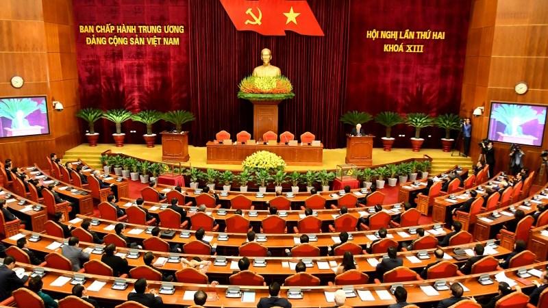 [Infographics] Hội nghị lần thứ hai Ban chấp hành Trung ương Đảng khóa XIII hoàn thành toàn bộ nội dung, chương trình đề ra