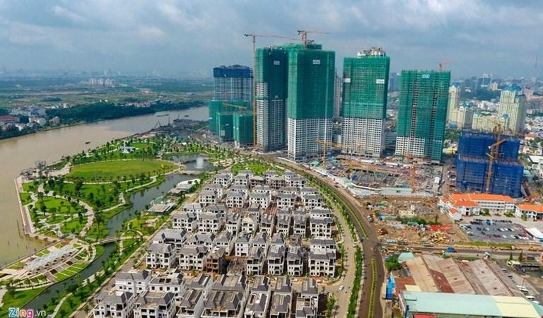 Vốn vào địa ốc TP. Hồ Chí Minh giảm mạnh
