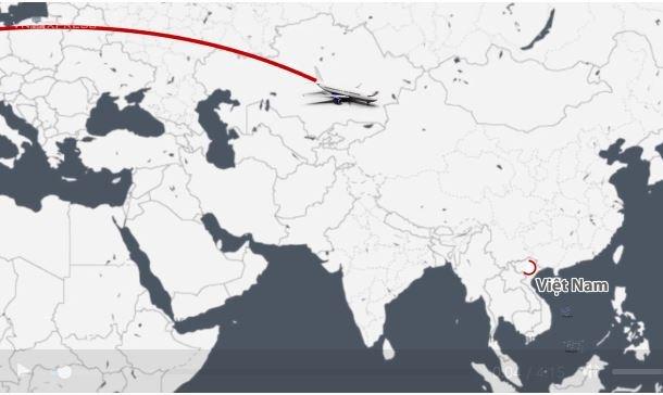 [Video] Chuyến bay thay đổi bản đồ Covid-19