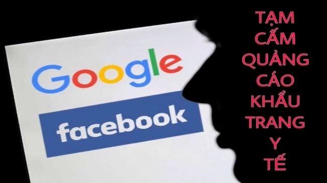 [Video] Facebook và Google tạm cấm quảng cáo khẩu trang y tế