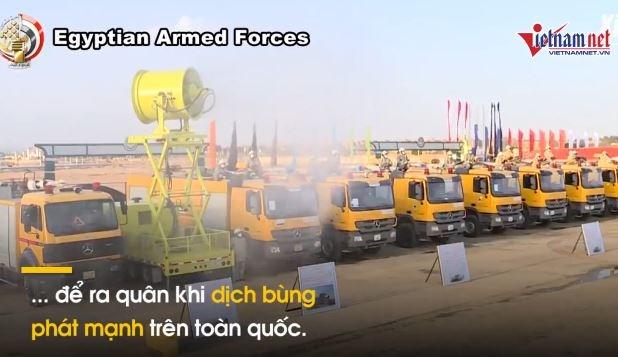 [Video] Quân đội Ai Cập ra quân,