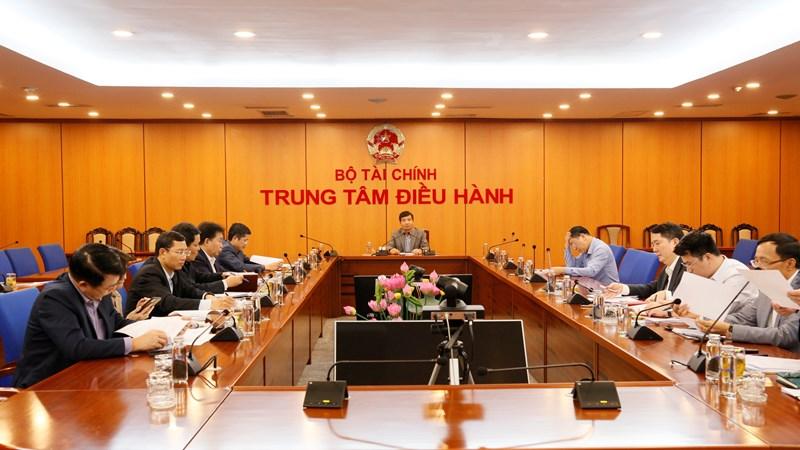 Ban Thường vụ Đảng ủy Bộ Tài chính tổ chức Hội nghị tháng 3/2021